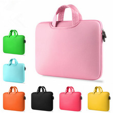 BinFul Portable Ultrabook Notebook Soft Sleeve Laptop Bag Case Cover for MacBook Pro Air Retina 11 12 13 15 15.6 inch Handlebag