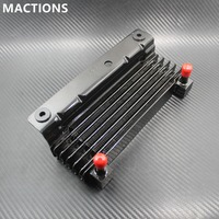 Motorcycle Oil Cooler Radiator Water Tank For Harley Touring Street Glide Road King Road Glide FLHR FLHTC 09 11 12 13 14 15 16