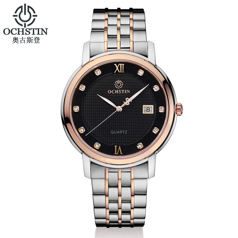 OCHSTIN Brand Men's Clcok Women Simple Fashion Casual Watches Men Date Waterproof Lady Quartz Mens Wrist Watch Relogio Masculino