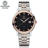 OCHSTIN Marke männer Clcok Frauen Einfache Mode Lässig Männer Uhren Datum Wasserdicht Dame Quarz Herren Armbanduhr Relogio Masculino