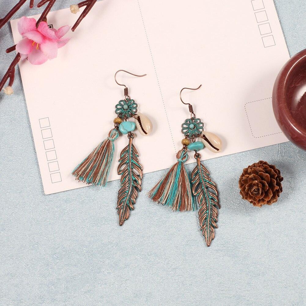 Subharpit Ethnic Green Non-Precious Metal Dangle /& Drop Earrings for Women /& Girls