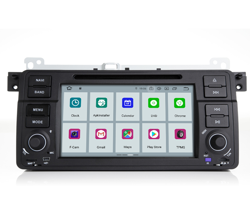 Discount COIKA Android 9.0 System Car Head Unit 2+16G RAM For BMW 3 Series E46 MG ZT Rover 75 GPS Navi Stereo WIFI Google 1080P Video SWC 2