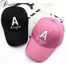 Doitbest 2 to 8 Years 2019 Child Baseball Cap Hip Hop Summer Angle Letters kids Sun Hat spring Boys Girls Caps snapback hats(China)