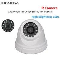Woshijia 2016 New AHD TVI CVI Plastic IR Dome Camera Cheap With IR CUT OSD White