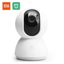 купить Xiaomi Mijia Smart IP Camera 110 Degree 1080P PAN TILT Upgraded Version Wifi connection intelligent Security Night Vision недорого