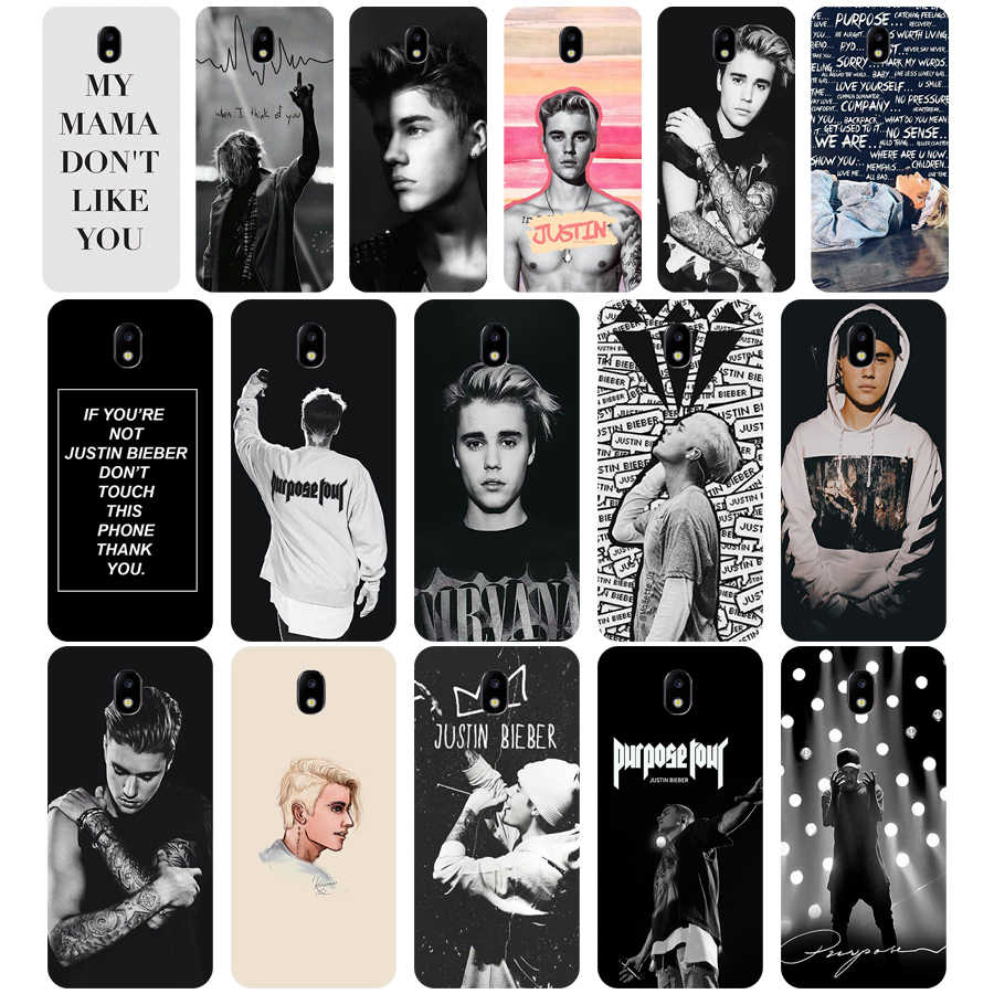 121WE Justin Bieber Lembut Silicone TPU Cover Phone Case untuk Samsung J3 J5 J7 2015 2016 2017 J330 J2 J4 prime J4 J6 Plus 2018