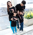 Lovely cat family clothes set for girls boys mother and father, Parent-Child long sleeve T-shirts for Spring & Autumn, RB518