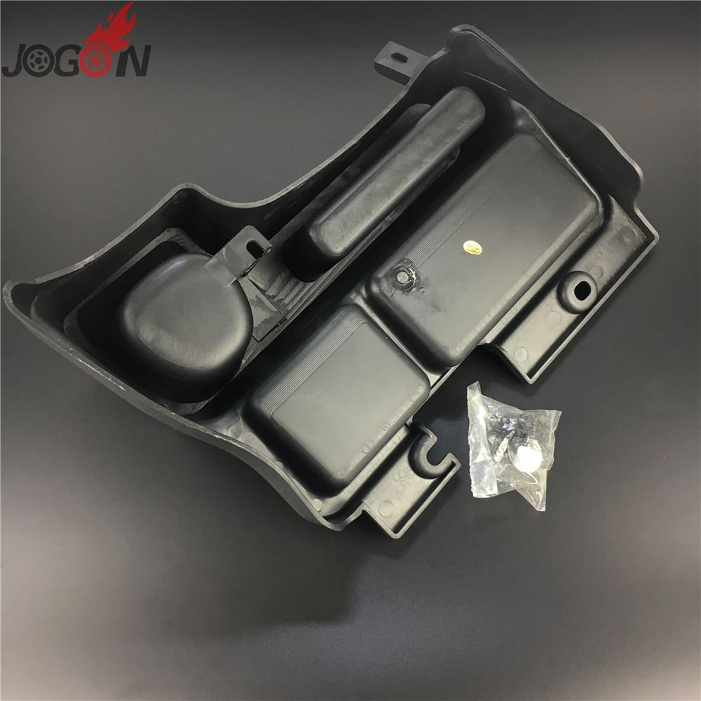 Console central do carro caixa de apoio
