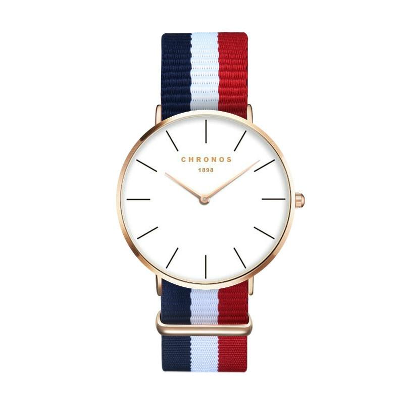 Karstā vīriešu pulksteņi top zīmolu luksusa Vīriešu Sieviešu pulksteņi Jauns Nylon Quartz Rokas pulksteņi sievietēm relogio feminino Pulksteņu taimeris