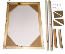 Дерево Рамки на холсте маслом Природа Дерево DIY пользовательских Рамки изображение внутренней Рамки без картины Рамки размер 40×50 см