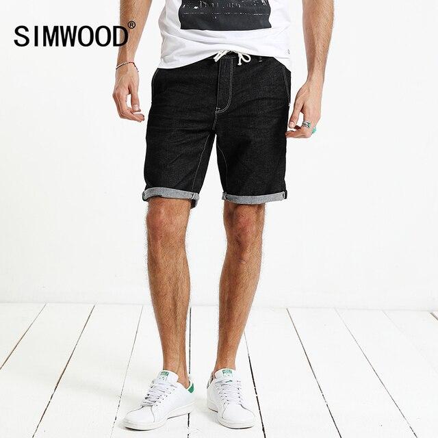 black denim shorts mens