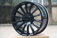 4 Новые 18 колесные диски для MERCEDES BENZ Черный AMG колесные диски W813