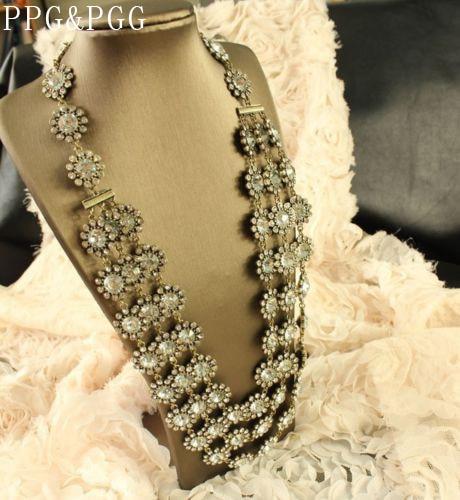 PPG i PGG Nova Vintage izbirljiva lanac izjava ogrlice od teškog - Modni nakit - Foto 2
