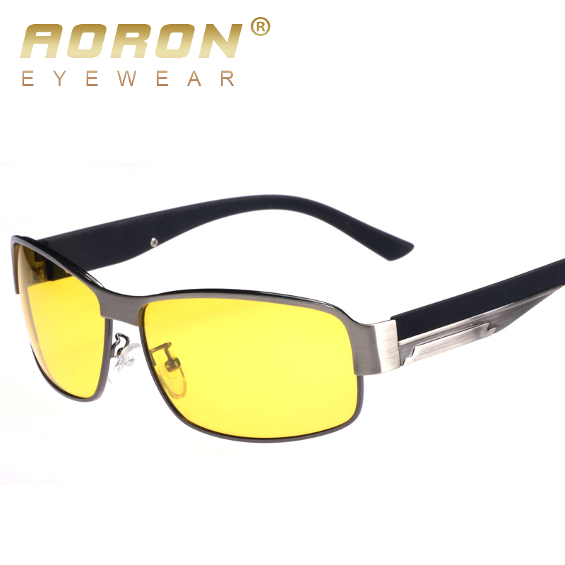 HD Night Vision Polarized Driving Glasses Driver Goggles Light Protective Gear Sunglasses 8485