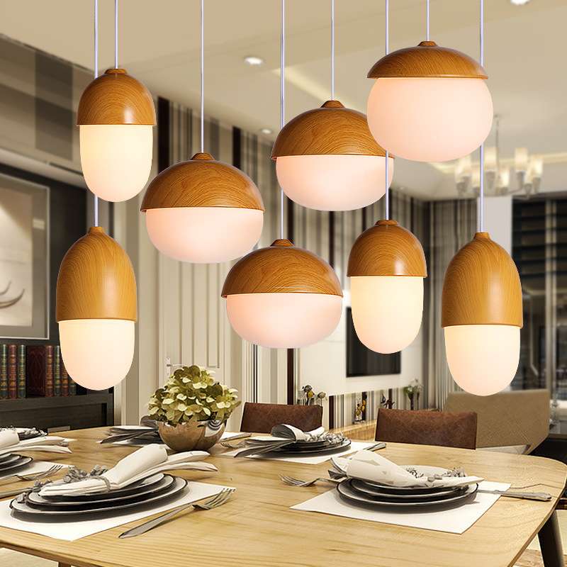 Glass Pendant Lights LED Restaurant Creative Personality Bar Table Lamp Nordic Modern Minimalist Art Cafe Aisle Lamps все цены