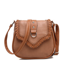 618 new Mini Crossbody bag women's Weaving Flip cover PU Shoulder Bags Mobile phone Clutch pocket Storage Female Messenger