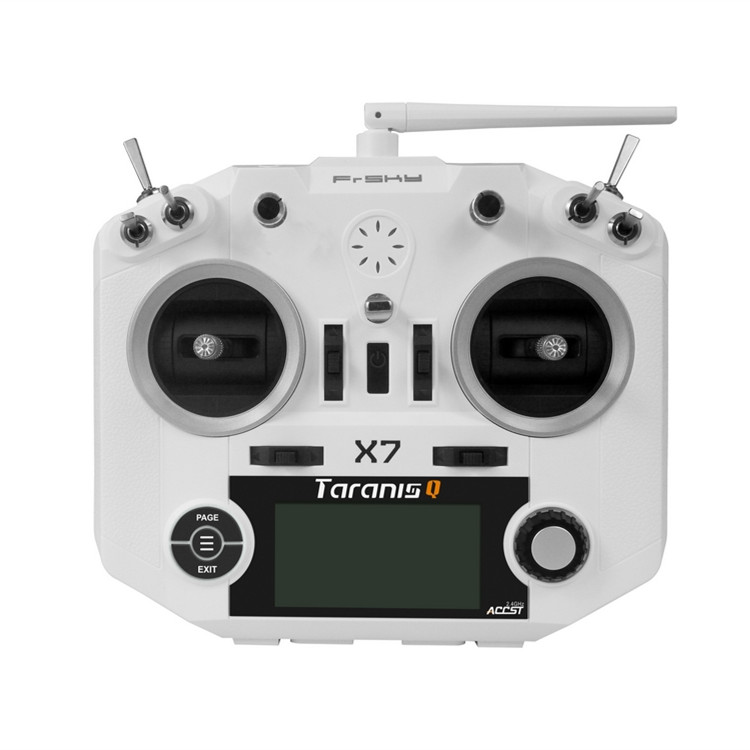 Original Frsky Taranis Q X7 2.4G OPENTX 16-CH remote control transmitter for DIY RC model, FPV drones frsky horus x10s 16 ch rc transmitter mode 2 mc12plus gimbal aluminum packaging remote control for rc toy vs accst taranis q x7