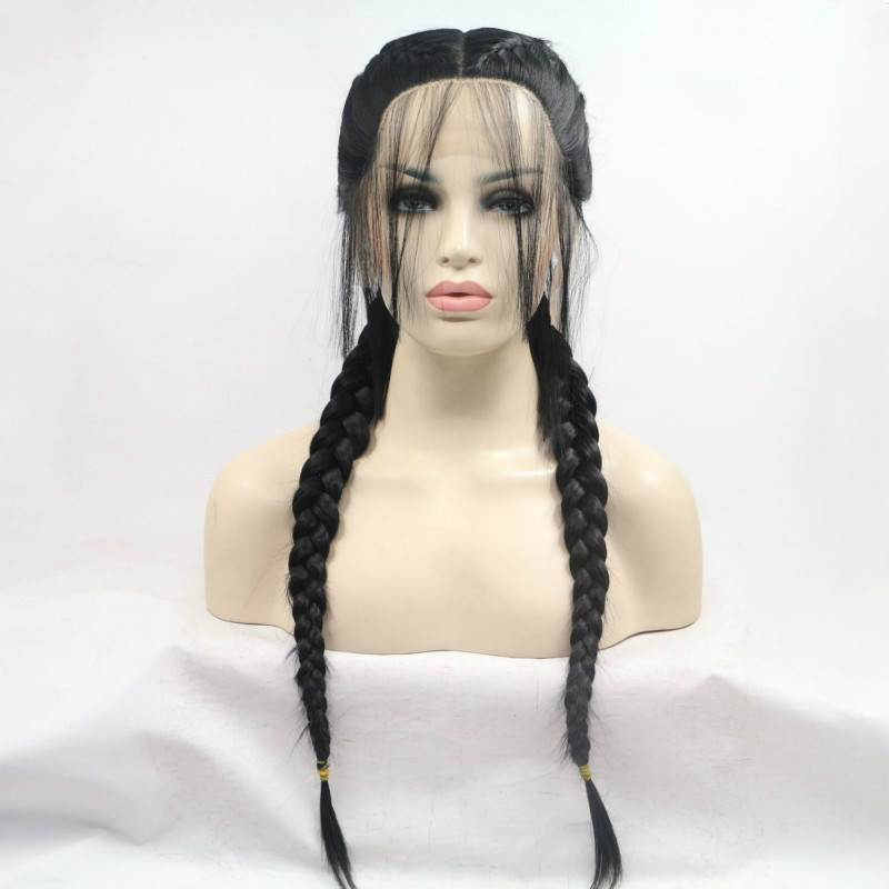 Sylvia fibra resistente ao calor peruca de