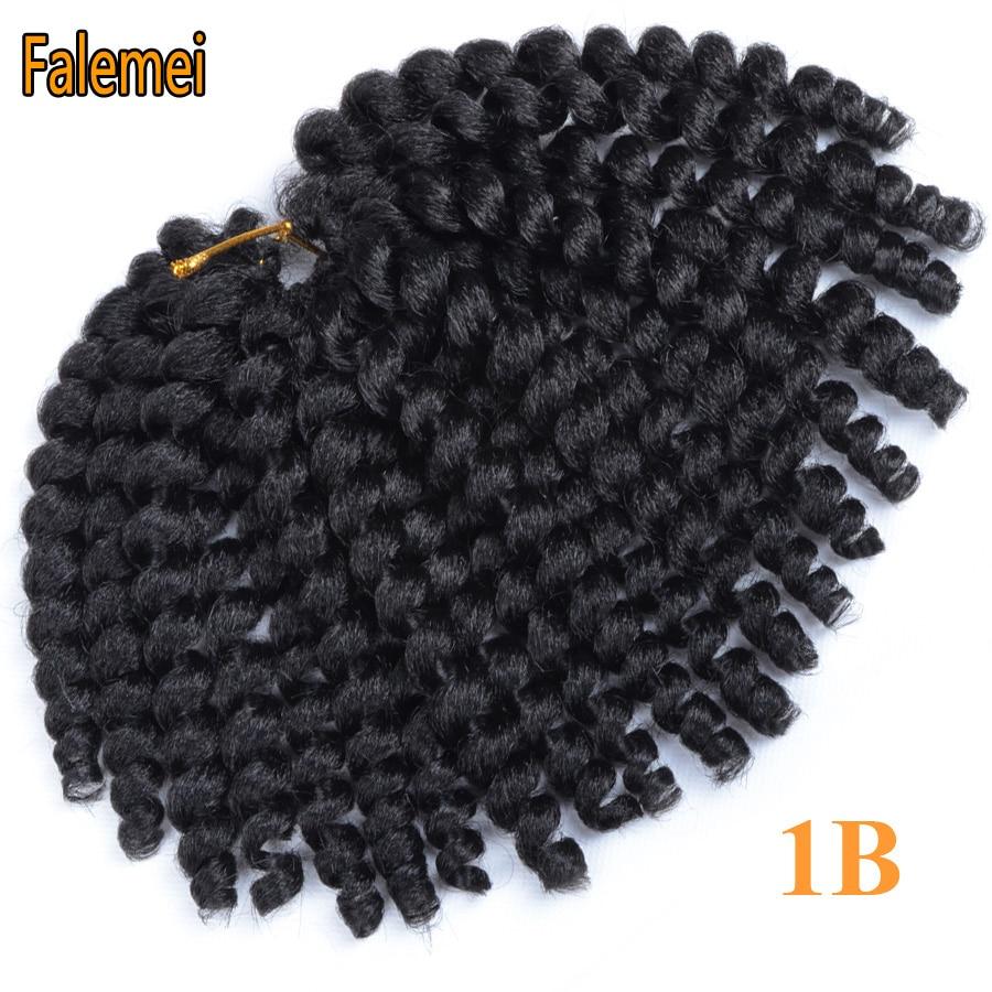 FALEMEI 2Χ Τζαμαϊκανές Μπλούζες μαλλιών 10 - Συνθετικά μαλλιά - Φωτογραφία 5