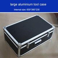 Большой алюминиевый корпус для инструментов ударопрочный влагостойкий ящик для инструментов более прочный корпус для подшипников коробка...