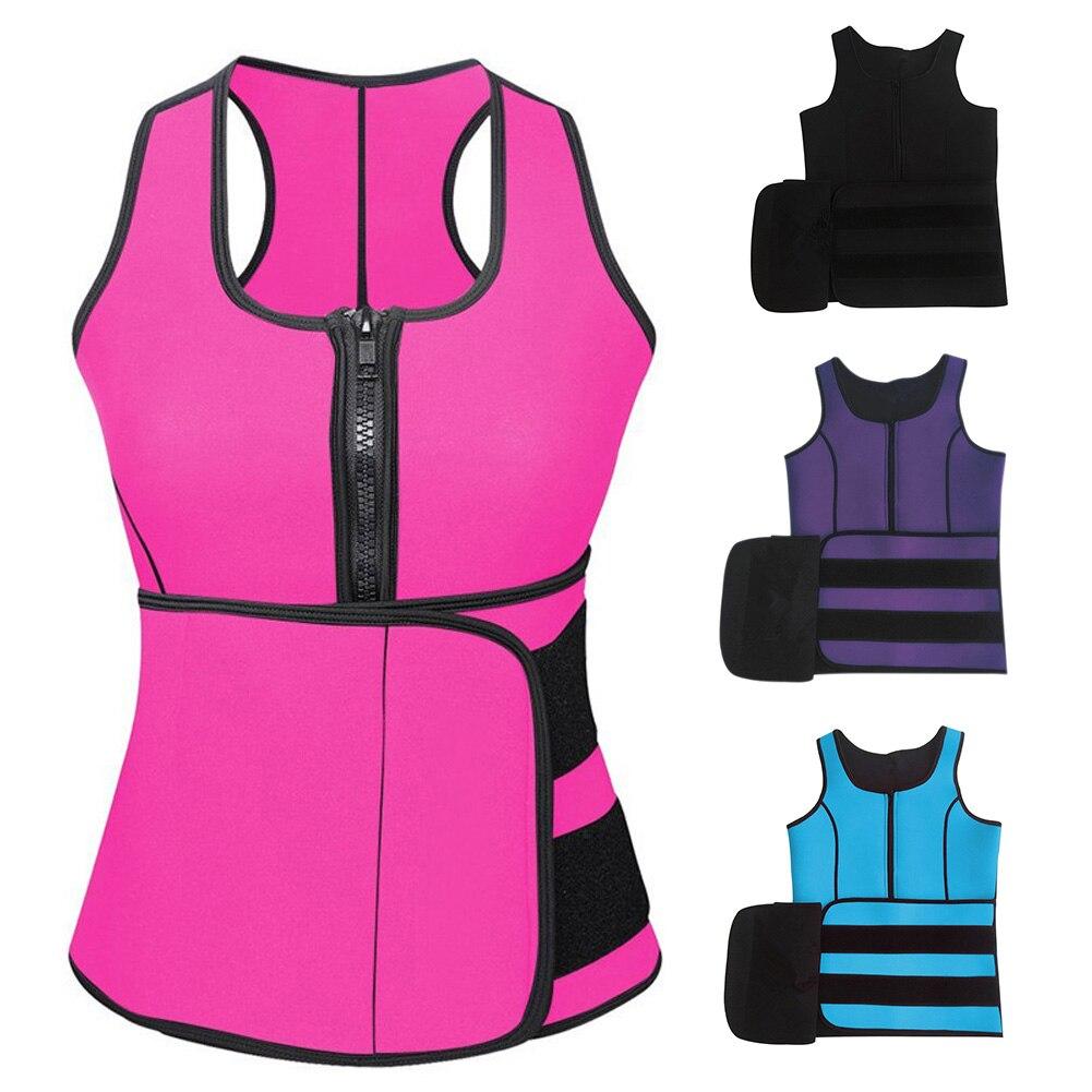 Sweat Vest Body Shaper Corset Neoprene Shapewear for Slimming Waist Weight Loss H9