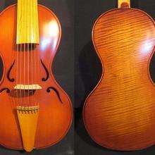 "Барокко Стиль SONG Maestro 7 string(1"") viola da gamba, богатый цвет#4339"