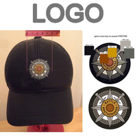 Customized PVC Soft Rubbers LOGO For Hats