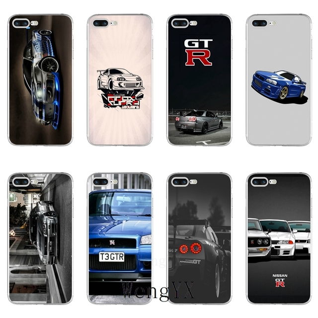 nissan gtr iphone 8 case