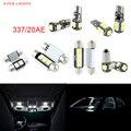 8pcs LED Canbus Interior Lights Kit Package For Volkswagen VW Golf IV R32 MK IV 337/20AE 2004