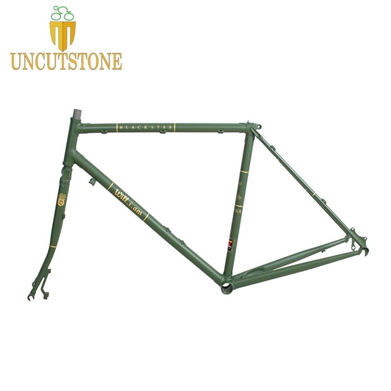 Touring Bike  Road Bicycle Frame  49 Cm 50 Cm 52 Cm 54 Cm 58cm 4130 Chrome Molybdenum Frame Road Bike Frame Customized Color