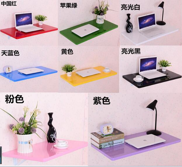 70*50CM Wall Mount Piano painting process Laptop Table Folding Wall Hanging Children Study Desk 75 60cm wall mount hanging table wood folding dining table children study desk laptop desk