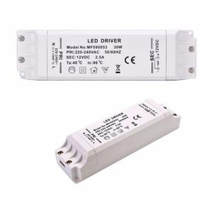 Image 5 - Trasformatore driver led 50w 30w 18w 12w 6w dc 12V uscita 1A alimentatore adattatore di alimentazione per lampada a led striscia led downlight