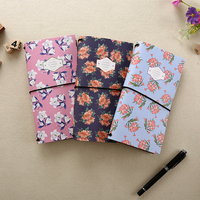 Creative The flowers are open paper Cover Planner Notebook Diary Book Exercise Composition Binding Note Notepad Gift Stationery