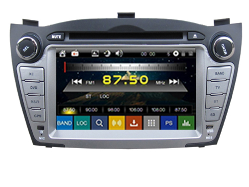 Wince 6.0 CAR DVD PLAYER Sunplus 8288T solution FOR HYUNDAI TUCSON ix35 09-13 Autoradio stereo multimedia player bluetooth gps