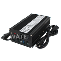43.8V 10A LiFePO4 universal Wall Socket 36V LiFePO4 Battery Pack Charger auto stop AC DC Power Supply