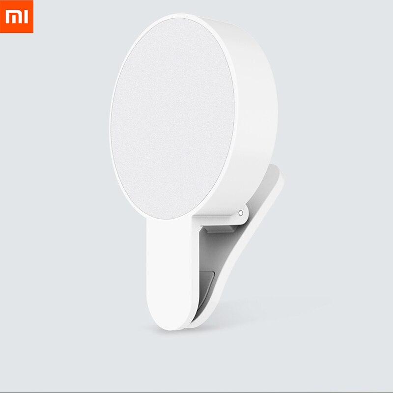 все цены на Original Xiaomi Mijia Yuemi Fill Led Light ( Mobile Phone Selfies ) For Xiaomi Smart Home Three Dimming / Minimalist Design