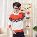 Los niños de la Rebeca de Primavera Otoño Nueva Ropa de Camuflaje Chaqueta de Punto, 100% de la Buena Calidad Pullover Suéter Cardigan Bebé Boys Outfit