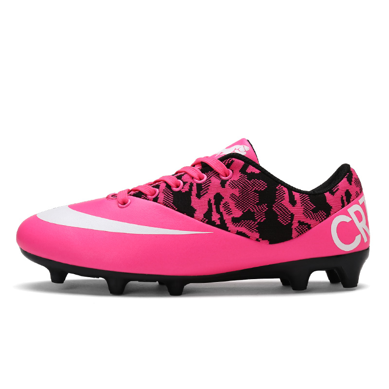 82cc95e4b New Soccer Shoes Hypervenom Phelon SG FG AG CR7 Outdoor Professional  Football Boots Men Women Kids Sneaker Adult Soccer Cleats 1-in Soccer Shoes  from Sports ...