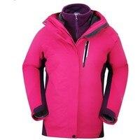 High Quality Female Outdoor Windbreaker Winter Fleece Lined Snowboarding Jacket Women Snow Warm Waterproof Outdoor Sportswear