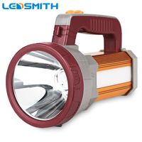 LED Searching Flashlight 18650 Battery 18000mAh USB Rechargeable Outdoor Portable Handheld Multi Function Camping Lamp