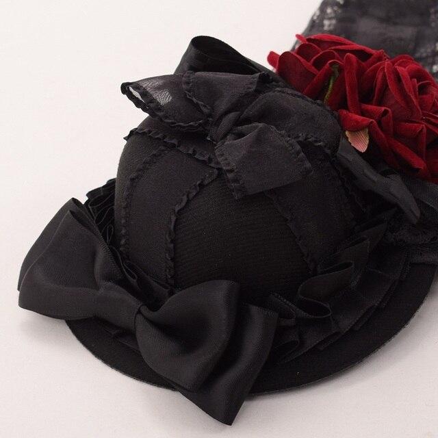 Шляпка готическая лолита вариант 2 3