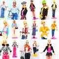 5 conjuntos equipar Design exclusivo Handmade boneca vestidos vestuário terninho brasão acessórios para Kurhn Barbie Doll presente das crianças crianças