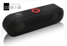 Новый NBY-18 Mini Bluetooth Динамик Портативный Беспроводной Динамик звук Системы 3D музыке стерео объемного Поддержка Bluetooth, TF AUX USB