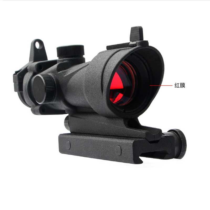 Red Film Sight 1x32 Small Conch Frosted High Quality Tactical Hunting Accessories