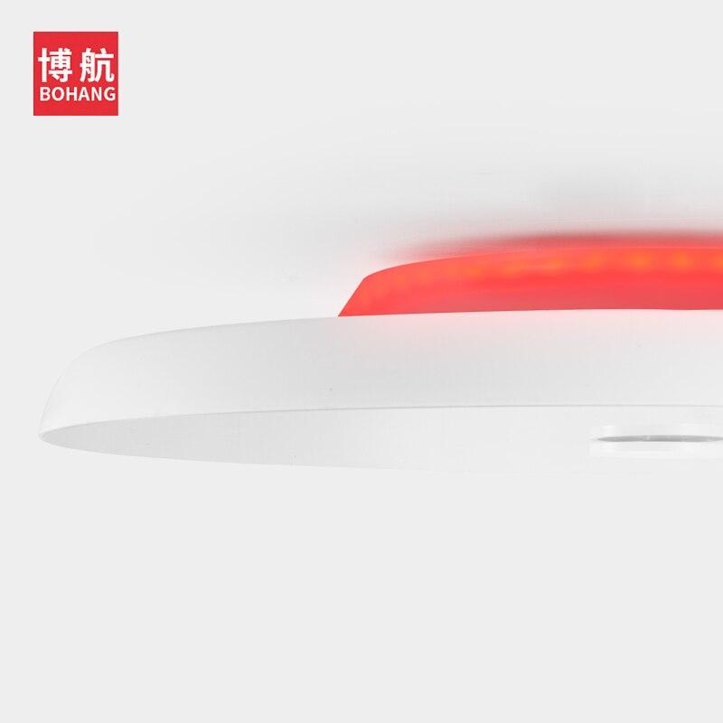 Plafond moderne à LEDs lumières Dimmable 36W 48W 72W APP télécommande Bluetooth musique lumière haut parleur foyer chambre intelligente plafonnier - 6