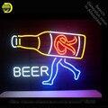 Неоновая вывеска для пива  неоновая трубка  винтажная пивная деловая вывеска  лампа ручной работы  магазин  отображает подарки  световая выв...