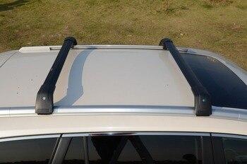 Paar Kreuz Bar für Porsche Cayenne 2011-2017 Dach Schiene Rack Gepäck Hohe Qualität Aluminium