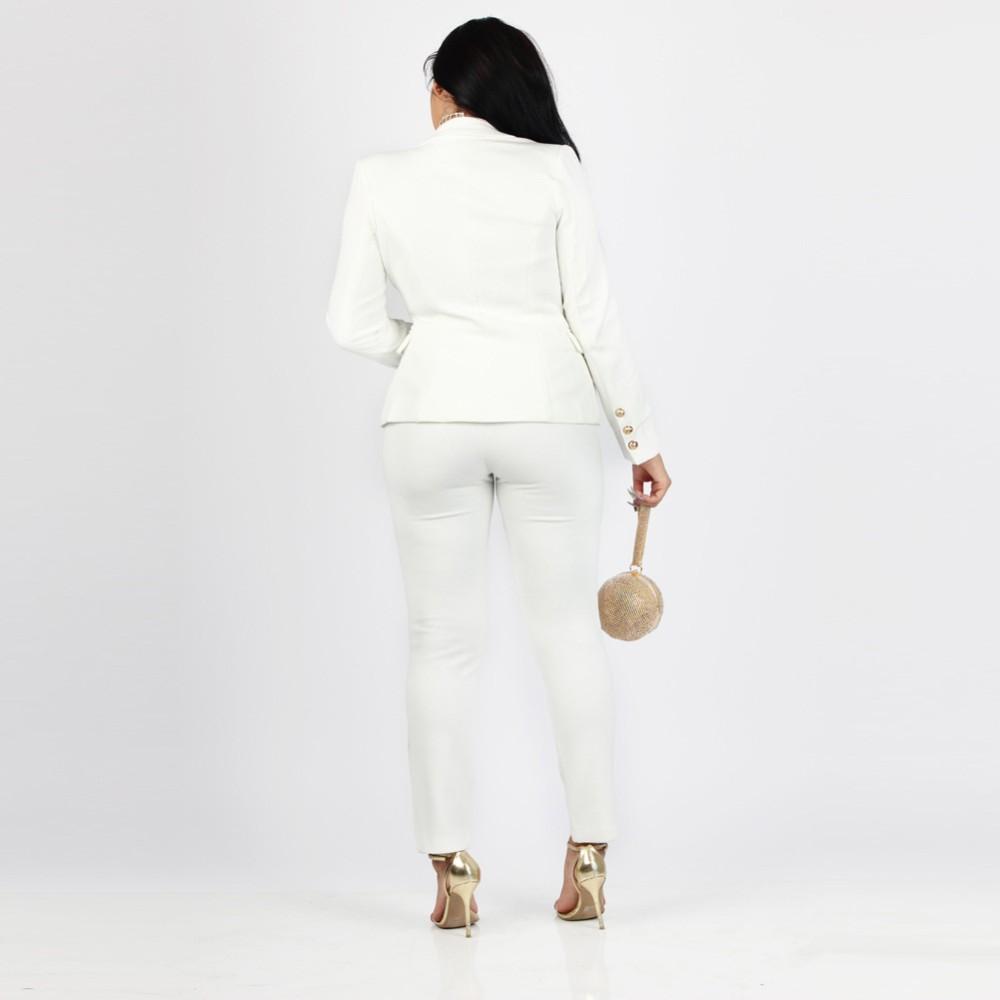 2 Piece Set Women Suit 17 New Formal Office Work Wear Blazer Jacket Tops And Skinny Pants Women Suits Two Piece Set 6