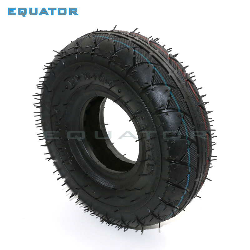 4.10/3.50-4 410/350-4 On Road ATV Quad Go Kart 47cc 49cc With Chunky 4.10-4 Tire Inner Tube Fit All Models 3.50-4 4""