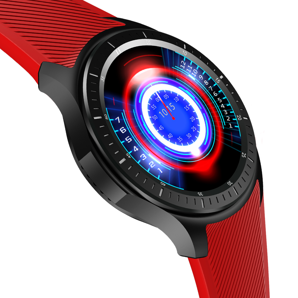 Vwar dm368 android 5.1 smart watch 400*400 pantalla de 1.39 pulgadas mtk6580 qua